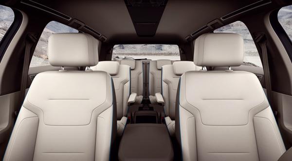 VW CrossBlue - 6 Sitze