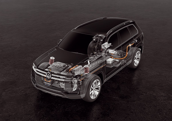 Volkswagen CrossBlue - Hybrid