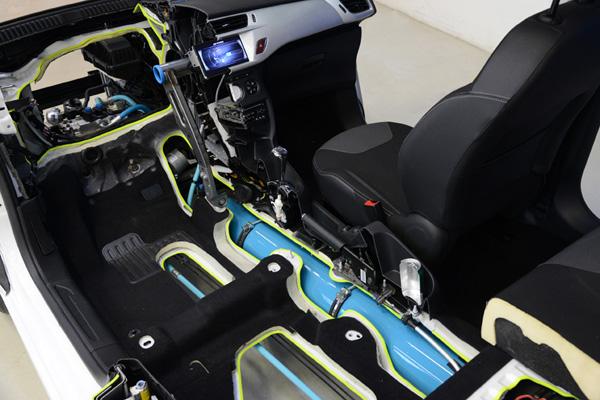 Druckbehälter beim Hybrid Air