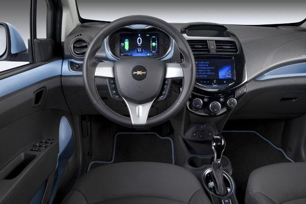 Chevrolet Spark EV - Innenraum