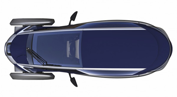 Toyota i-ROAD (Skizze)