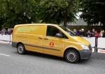 50 Mercedes-Benz Vito E-CELL Kastenwagen werden in den kommenden Monaten an die Dänische Post ausgeliefert.