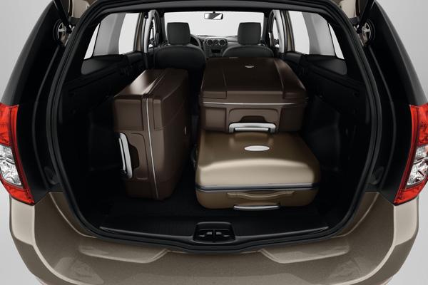 Neuer Dacia Logan MCV - Kofferraum