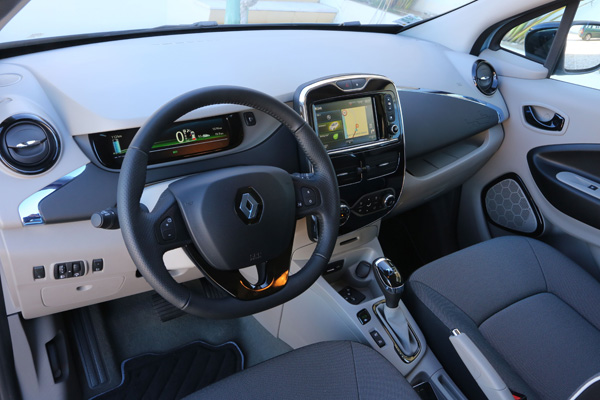 Renault ZOE - Innenraum und Armaturenbrett