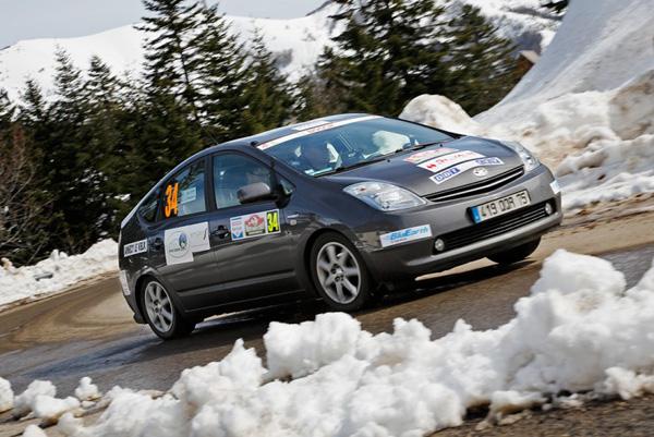 Toyota Prius - 1. Platz bei der Rallye Monte-Carlo für alternative Antriebe 2013