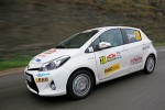 Toyota Yaris Hybrid - 3. Platz bei der Rallye Monte-Carlo für alternative Antriebe 2013