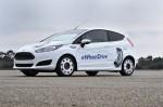 Schaeffler E-Wheel Drive in einem in Kooperation mit Ford realisierten Entwicklungsfahrzeug auf Basis eines Ford Fiesta.