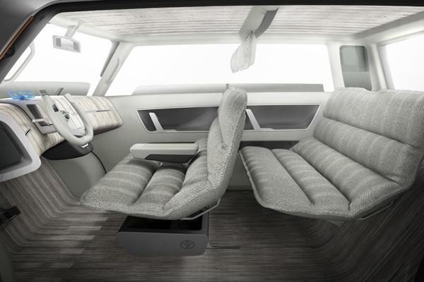 Toyota ME.WE - Innenraum