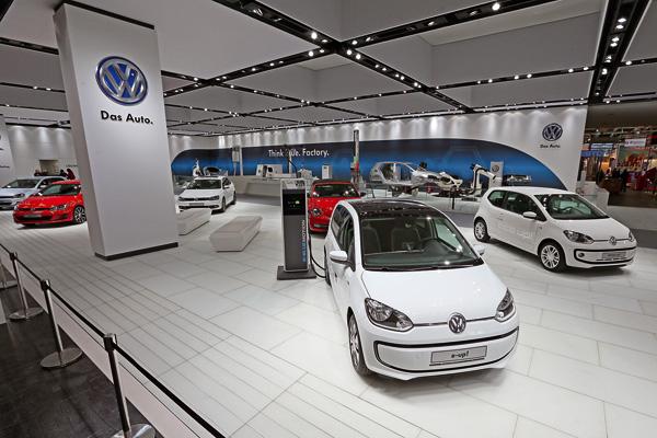 Volkswagen auf der Hannover Messe