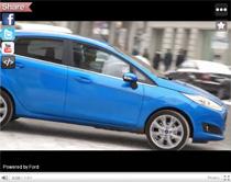 Sängerin Leslie Clio testet den neuen Ford Fiesta (Anzeige)
