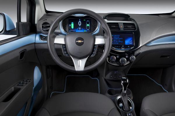 2014 Chevrolet Spark EV - Innenraum