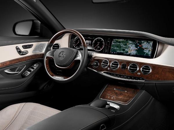 Mercedes-Benz - Neue S-Klasse - Cockpit