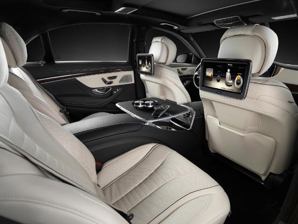 Mercedes-Benz - Neue S-Klasse - Innenraum