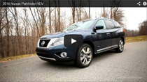 Der neue 2014 Nissan Pathfinder Hybrid