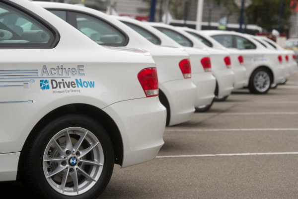 BMW ActiveE bei DriveNow in Berlin