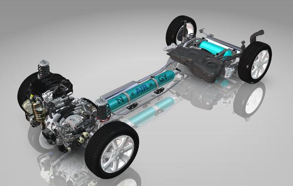 Hybrid-Air-Antriebskonzept