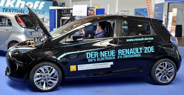 Renault ZOE auf der e-mobility-world