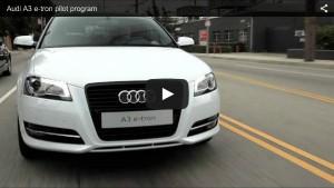 Audi A3 e-tron Pilotprogramm in den USA