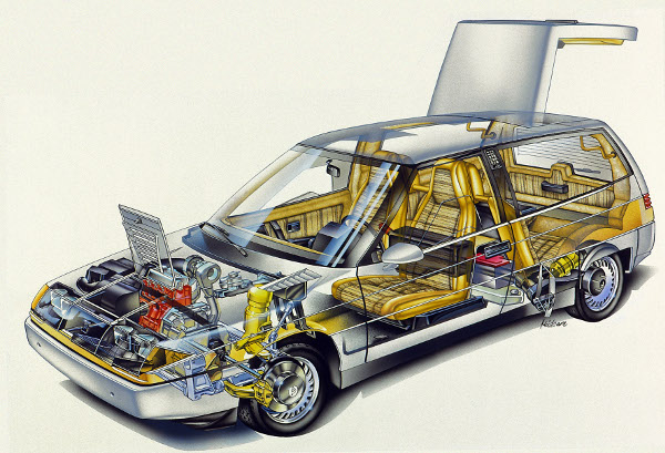 Volvo LCP2000 (Light Component Project), 1983