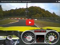 """SLS AMG Coupé Electric Drive mit Rundenrekord in der """"Grünen Hölle"""""""