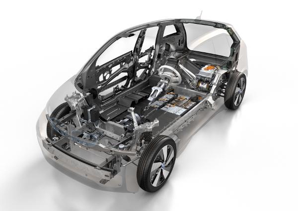 BMW i3 - Innenleben