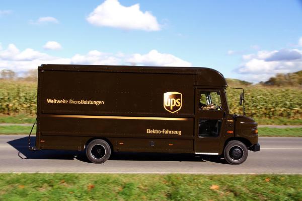 Elektro-Transporter von UPS