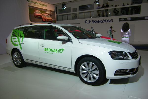 Erdgas VW Passat auf der IAA 2011