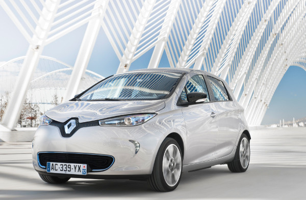 Renault ZOE - red dot award Gewinner