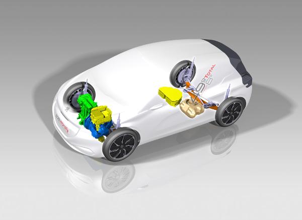 208 HYbrid FE - Hybridantrieb