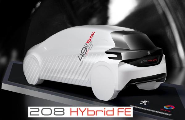 208 HYbrid FE - Modell