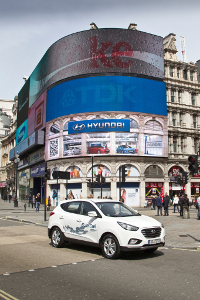 Hyundai ix35 Fuel Cell für London