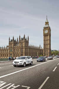 Hyundai ix35 Fuel Cell für London