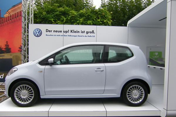 Sparsame Autos wie der VW Up (bestimmte Motorisierungen)