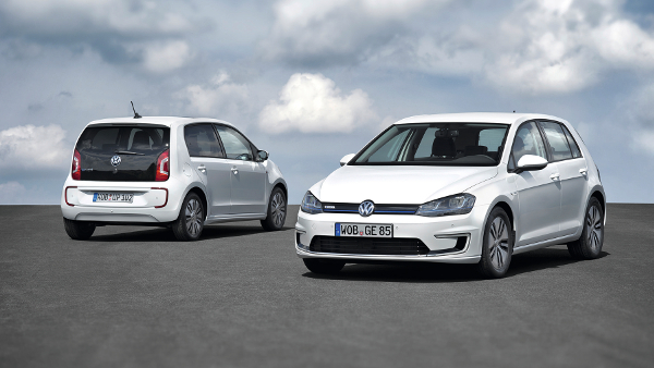 VW e-Golf und VW e-up!