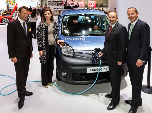 10.000. Renault Kangoo ZE auf der IAA 2013