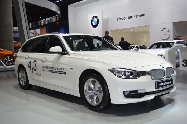 BMW 320d EfficientDynamics auf der IAA 2013