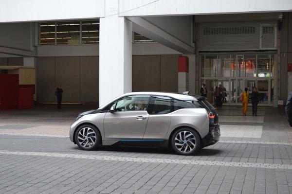 BMW i3 - Messeshuttle auf der IAA 2013