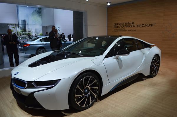 BMW i8 auf der IAA 2013