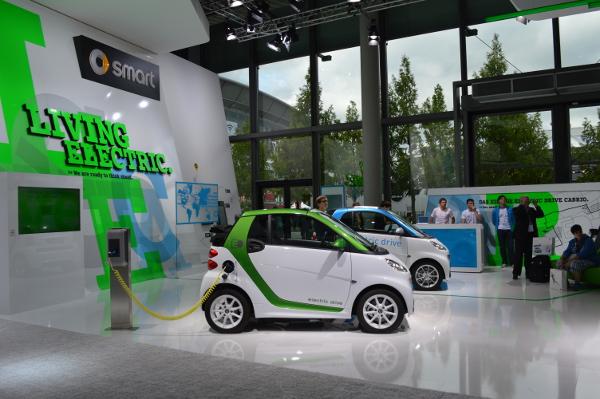 Elektro-smarts auf der IAA 2013