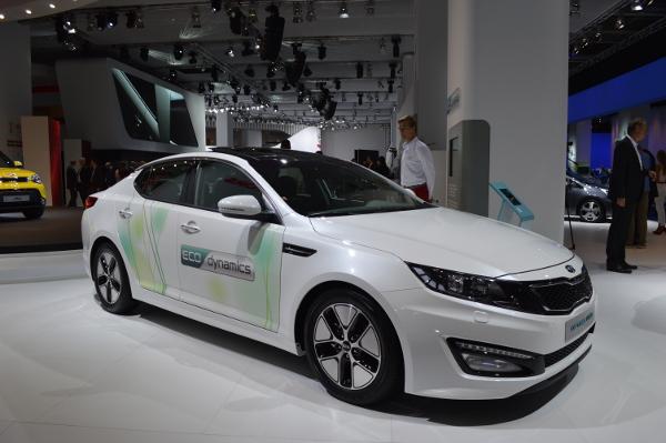 Kia Optima Hybrid mit Facelift