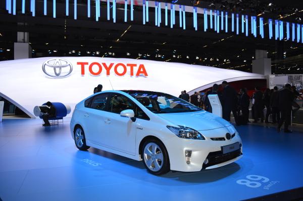 Toyota Prius auf der IAA 2013