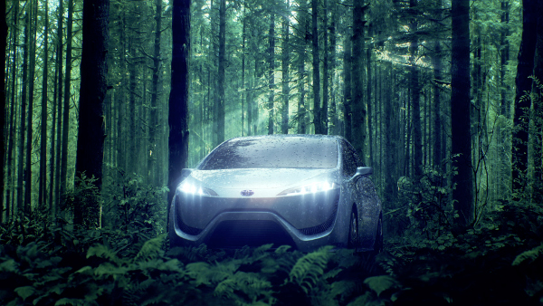 Toyota: Auto Brennstoffzellenantrieb