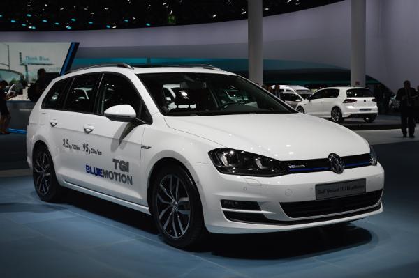 VW Golf Variant TGI BlueMotion auf der IAA 2013