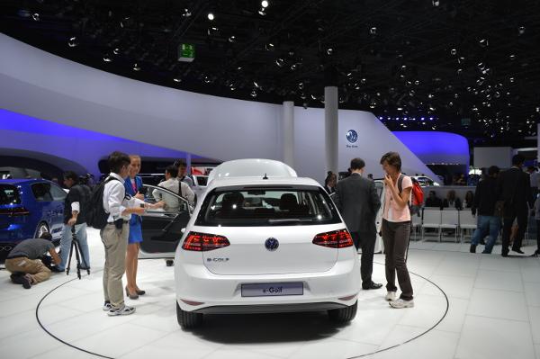 VW e-Golf auf der IAA 2013