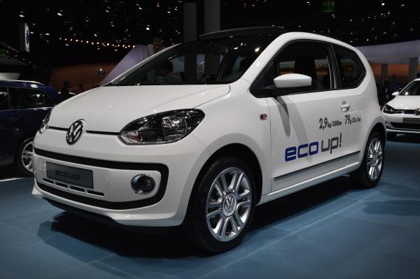 VW eco-up! auf der IAA 2013