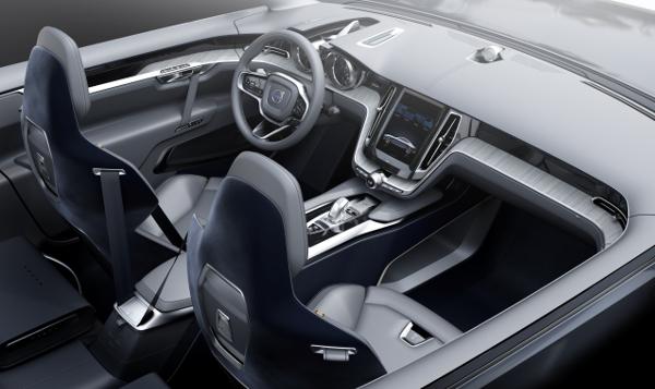 Volvo Concept Coupe - Interieur