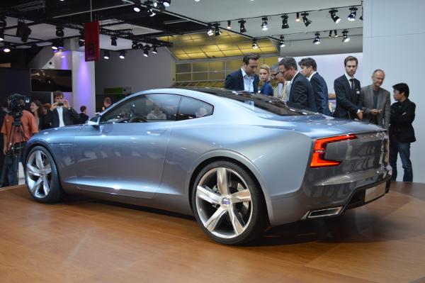 Volvo Concept Coupe auf der IAA 2013