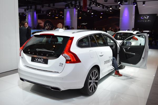 Volvo V60 Plug-In Hybrid auf der IAA 2013