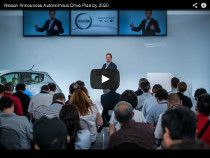 LEAF ohne Fahrer: Selbstfahrendes Auto von Nissan im Jahr 2020