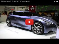 Nissan Friend-ME: Concept Car mit Hybridantrieb auf der IAA 2013
